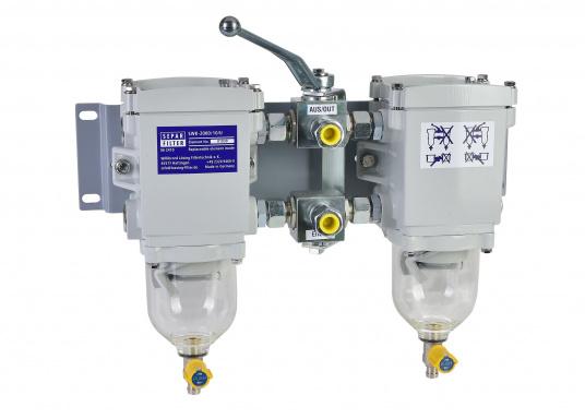 Der SEPAR SWK 2000 ist ein Wasserabscheider und Filter für leichte Dieselkraftstoffe, GL-, Lloyds-, RINA-, TÜV-geprüft. Lieferbar in verschiedenen Ausführungen.