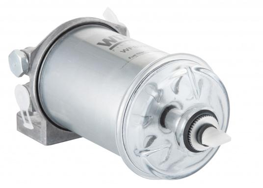 Diesel Kombi–Filter und Wasserabscheider in einem! Durch den Sichteinsatz kann jederzeit kontrolliert werden, ob sich Wasser angesammelt hat und über ein Ventil wird das angesammelte Wasser abgelassen. (Bild 4 von 7)