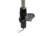 NaviLED Anchor Lamp with Mast, Black / 610 mm