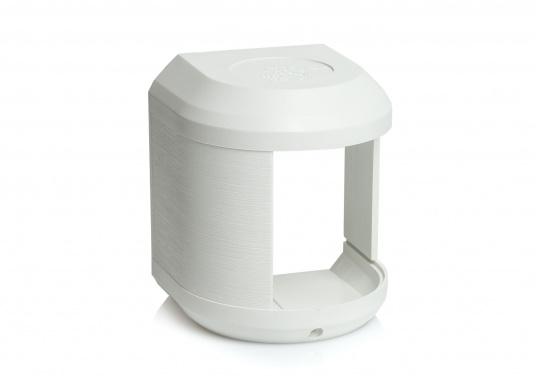 Originales und passendes Ersatzgehäuse für die Steuerbordlaterne der Serie 41 von Aqua Signal. Gehäusefarbe: weiß.