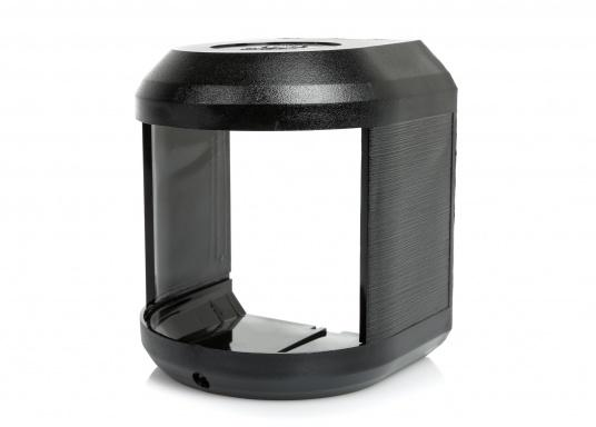 Originales und passendes Ersatzgehäuse für die Hecklaterne der Serie 41 von Aqua Signal. Gehäusefarbe: schwarz.