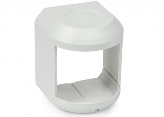 Originales und passendes Ersatzgehäuse für die Hecklaterne der Serie 41 von Aqua Signal. Gehäusefarbe: weiß.