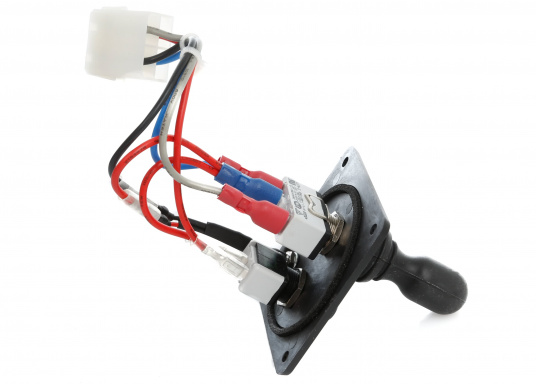 Original and compatible joystick panel for LEWMAR bow thrusters. Part of the 110TT and 140TT set series. (Image 2 of 2)