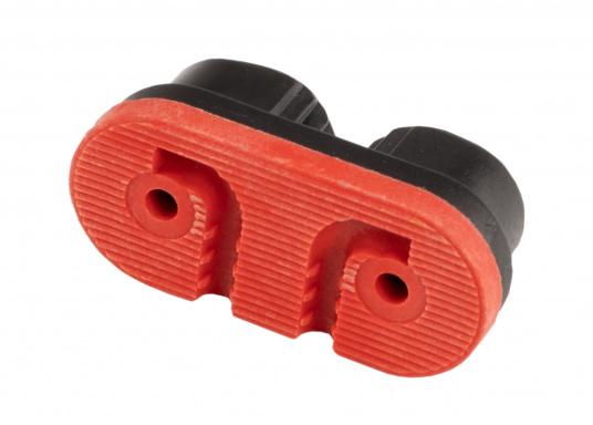 Die Gleitlager-Schotklemme von Sprenger wird komplett mit Spezialführung geliefert. Für Tauwerk mit einem Durchmesser von 3 - 6 mm. (Bild 4 von 5)
