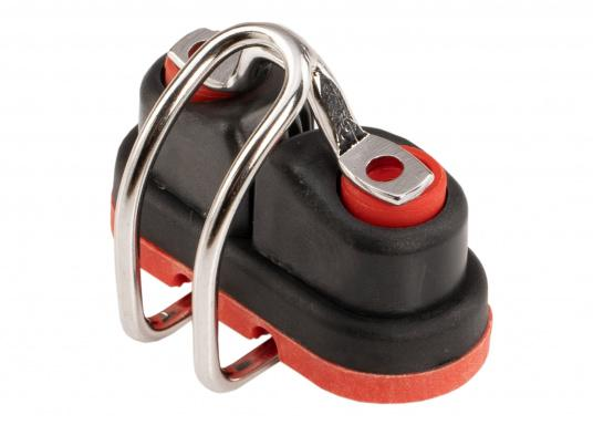 Die Gleitlager-Schotklemme von Sprenger wird komplett mit Spezialführung geliefert. Für Tauwerk mit einem Durchmesser von 3 - 6 mm. (Bild 2 von 5)
