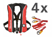 Life Jacket X-PRO 300 / 300 N / incl. lifelines / set of 4