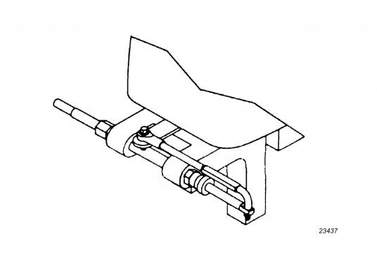 Ultraflex Compact-T Anbausatz / Kippachsenhalterung. Die übliche Anschlussart für Außenborder mit Standard-Kippachse. (Bild 4 von 4)