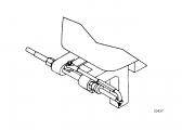 Compact-T Anbausatz / Kippachsenhalterung für Außenborder
