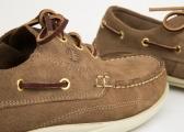 Chaussure de pont YAWL / marron