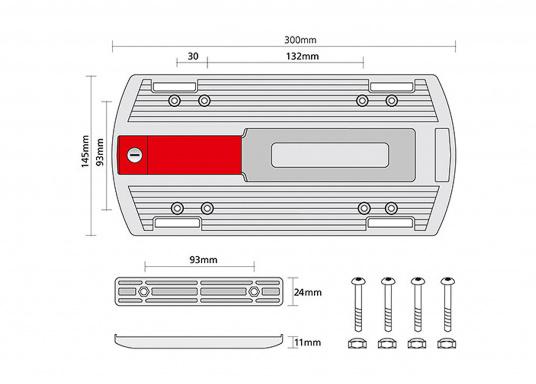 Die Gepäckträger-Adapterplatte GTA bildet eine ebene Ladefläche und dient gleichzeitig als Adapter für Körbe, Taschen und Boxen. Alle Teile sind über eine Zentralverriegelung abschließbar. In die seitlichen Schlitze können Taschen eingehängt werden. (Bild 7 von 7)