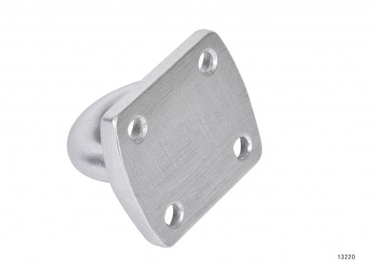 Augplatteaus Aluminium, geschmiedet. Maße: 45 x 40 mm.  (Bild 2 von 2)