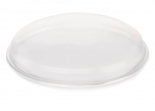 Matching replacement glass for your round ceiling light. Diameter approx. 180 mm. (Image 2 of 4)