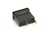 Interrupteur à bascule 2 poles / 7A / coupe circuit