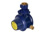 Gas Pressure Regulator Without Gauge, 30 mbar / Angled