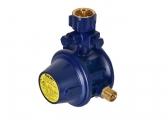 Regolatore di gas senza manometro, 30 mbar / angolare