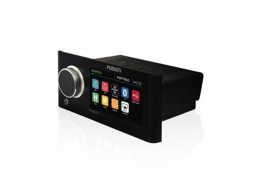 Das neue Marine Entertainment Radio MS-RA770 der Apollo Serie von FUSION bietet ein optimal abgestimmtes Soundprofil, Vielseitigkeit und Komfort. Das funktionelle Upgrade erlaubt Ihnen bis zu 12 seperat angesteuerte Lautsprecherpaare anzuschließen. Schnittstellen:Bluetooth, WiFi, NMEA2000, Ethernet RJ45 und USB. (Bild 2 von 8)