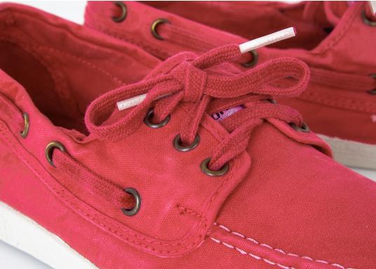 Der leichte Damenschuh Nautico Einzimatico ist perfekt für die Freizeit geeignet! Durch die 3-Loch Schnürung, lässt sich der Schuh komfortabel an- und ausziehen und bietet gleichzeitig einen festen Sitz. Farbe: magenta (Bild 6 von 6)