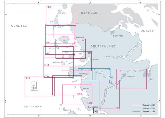 Die offizielle BSH-Sportbootkarte für die Ansteuerung von Helgoland bietet zuverlässige Informationen aus erster Hand!Lieferung der Karte im DIN A1 Format für den Einsatz auf der Yacht. (Bild 2 von 2)
