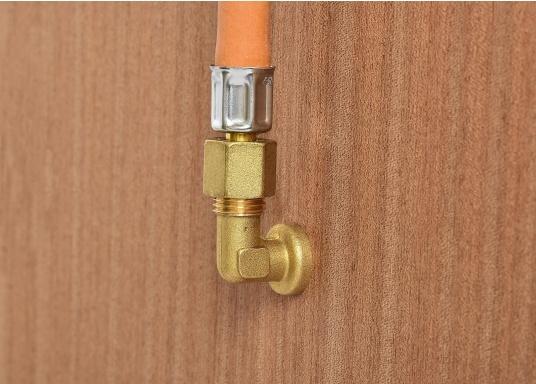 Raccords de gaz de cloison. Pour tuyaux de 8 mm  (Image 4 de 4)