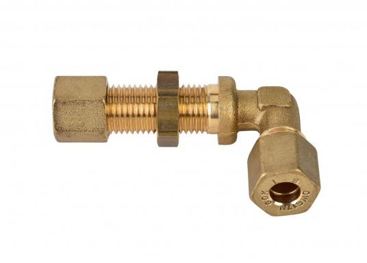 Raccords de gaz de cloison. Pour tuyaux de 8 mm