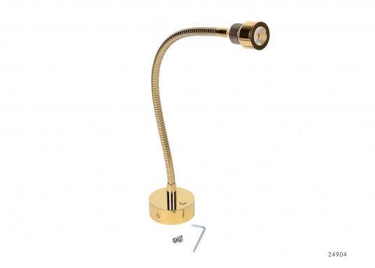 Das schlanke Design macht diese LED-Flexleuchten zu einem idealen Begleiter an Bord:Ob an der Koje für Leseratten, am Kartentisch oder in der Leseecke, sie fügt sich überall perfekt ein.  (Bild 2 von 5)