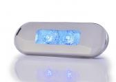 Voir Lampe de courtoisie LED, bleu / 12/24 V