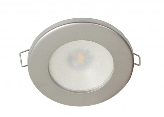 Plafoniera Luce Calda : Plafoniera quadrata da incasso bianca w ° °k luce calda