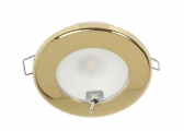 TED S LED Ceiling Light / Gold, polished
