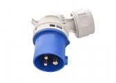 CEE Plug, Angled / 3-Pole