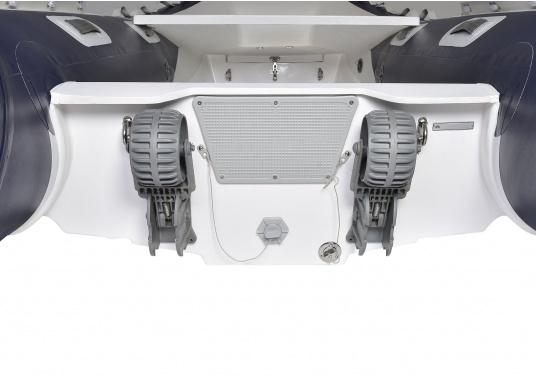 Klappbare Slipräder für Schlauchboote. (Bild 2 von 5)