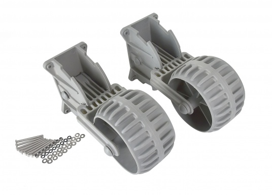 Klappbare Slipräder für Schlauchboote. (Bild 5 von 5)