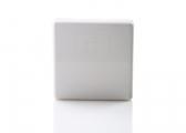 Porte-verre repliable / blanc