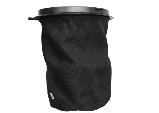Müll entsorgen leicht gemacht! Mit dem FLEXTRASH steht Ihnen ein flexibler Mülleimer zur Seite, der mühelos an sämtlichen Stellen angebracht werden kann. Der Behälter des FLEXTRASH besteht aus recycelten PET-Flaschen und bietet eine flexible und nachhaltige Lösung für Ihre Abfälle. (Bild 2 von 3)