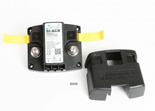 Das Upgrade für Ihre Schalt- und Ladesysteme. ADD A BATTERY erlaubt den Anschluss einer zweiten Batterie, vereinfacht das Umschalten und automatisiert den Ladevorgang. Verwendbar mit Generatoren mit120 Ampere. (Bild 6 von 8)