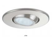 LED Deckenleuchte YOKO / Edelstahl, satiniert