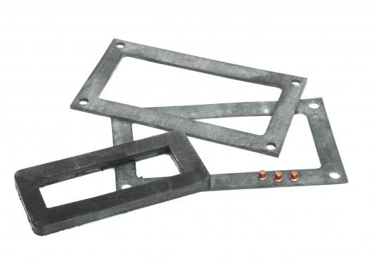 Originales und passendes Service-Kit für den SUPER MINI-Lenzer von ELVSTRÖM. Das Service-Kit besteht aus: 1x innere Dichtung 5 mm, 2x äußere Dichtungen 1 & 2 mm und 3 x Nieten zum Wiedereinbau.