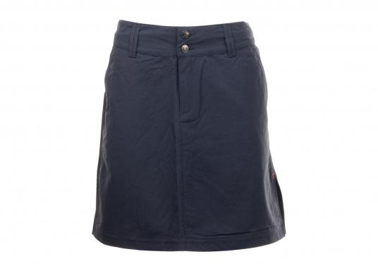 Der schöne Damen-Rock SABRINA von SEARANCH verfügt über zwei Taschen und einen Unterrock. Die Fast Dry-Funktion ermöglicht eine hohe Funktionalität. Der Oberstoff besteht zu 100 % aus Nylon, das Futter zu 95 % aus Polyester und 5 % aus Elasthan. Farbe: marineblau. Größe: 38 - 44.