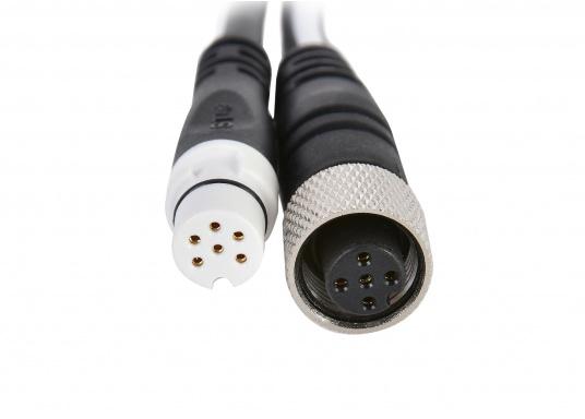 RAYMARINE Adapterkabel zur Verbindung eines NMEA2000 Gerätes (z.B. Multifunktionsdisplays) in ein vorhandenes Seatalk NG Netzwerk. Länge: 0,4 Meter. (Bild 2 von 2)