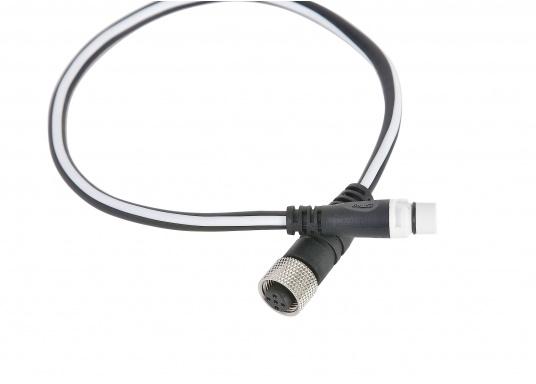RAYMARINE Adapterkabel zur Verbindung eines NMEA2000 Gerätes (z.B. Multifunktionsdisplays) in ein vorhandenes Seatalk NG Netzwerk. Länge: 0,4 Meter.
