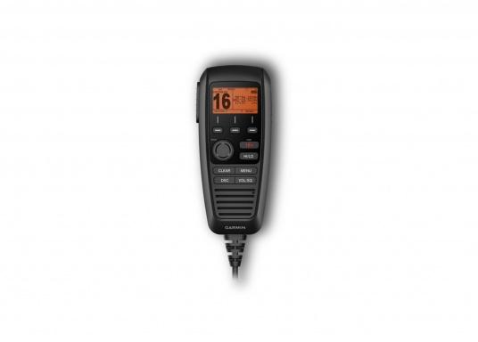 Das GHS11i bietet Ihnen die Möglichkeit, alle Funktionen der Garmin Funkgeräte 210i, 215i oder 315i von einem anderen Standort zu steuern. (Bild 2 von 2)