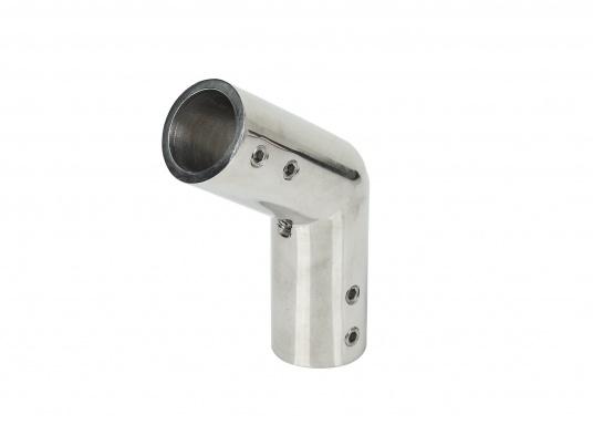 Winkelstück für 22 mm Rohr. 125 Grad. AISI 316 Edelstahl. (Bild 2 von 2)
