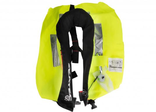 Die neue Rettungsweste GO von Seatec ist mit einem manuellen Auslöser ausgestattet und somit optimal für Wassersportarten, wie z.B. Kanu- oder Kajakfahren geeignet. Farbe: schwarz. (Bild 11 von 11)