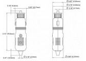 Cigarette Lighter Plug