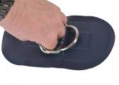 Maniglia con anello a D / blu scuro