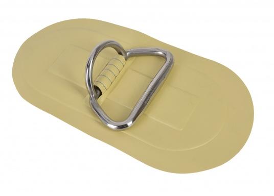 D-Ringe mit Handgriff für Ihr SEATEC Schlauchboot. Farbe: sand. Abmessungen: 25 x 13,5 cm.