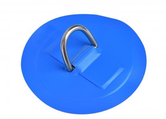 Große D-Ringe als Ersatzteil für Ihr SEATEC Schlauchboot. Erhältlich in verschiedenen Größen. Farbe: hellblau. (Bild 2 von 2)