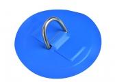 Anello a D per tender / blu chiaro