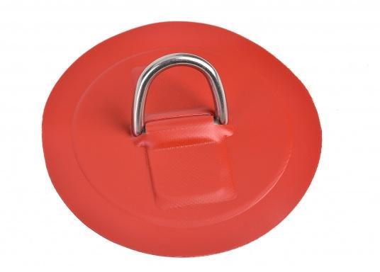 Große D-Ringe als Ersatzteil für Ihr SEATEC Schlauchboot. Erhältlich in verschiedenen Größen.Farbe: rot. (Bild 3 von 4)