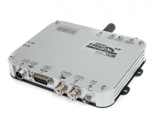 La génération S de l'émetteur AIS easyTRX apporte des améliorations tant au niveau du design que de la technologie qu'il contient. Plusieurs versions sont disponibles.