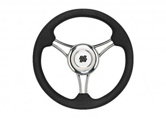 This steering wheel is manufactured using the latest technology for low weight and long life. With this steering wheel you can optimally upgrade your Compact-T steering.